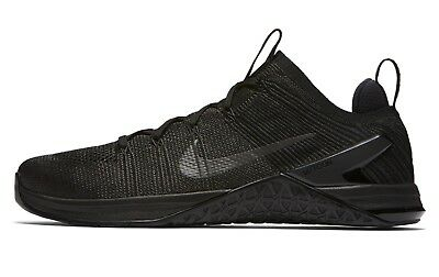 new concept 05ce1 16a22 MENS NIKE METCON DSX FLYKNIT 2 SIZE 6 EUR 39 (924423 004) BLACK CrossFit