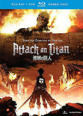 Attack on Titan, Part 1 [Blu-ray / DVD Combo]