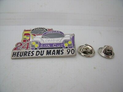 Pin's Pins Pin Badge PORSCHE 962 / JAGUAR XJR9 SILK CUT 24h Du Mans  !
