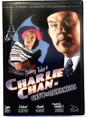 Charlie Chan in City In Darkness 1939 DVD Sidney Toler Detective Mystery Classic