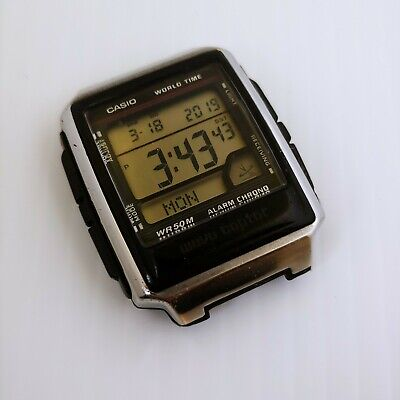 Mens Casio Wave Ceptor - Works But Needs Band