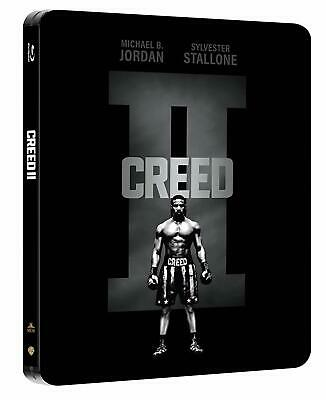 Creed II (2) (STEELBOOK) (Blu-ray) (Region Free) (2018) (NEW) (Single Disc)