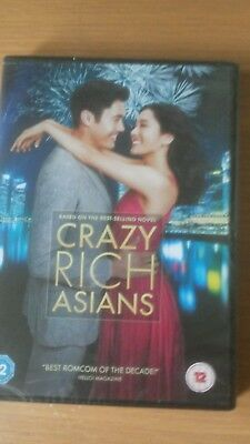 Crazy rich Asians dvd new and sealed