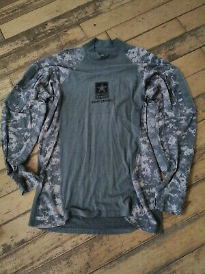 """Men's size large 44""""chest Massif US army/Airsoft/ hunting/paintball combat shirt"""