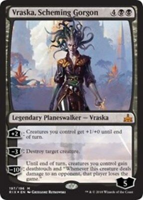 Planeswalker Deck Exclusive NM-Mint 1x Tezzeret Foil Engli Cruel Machinist