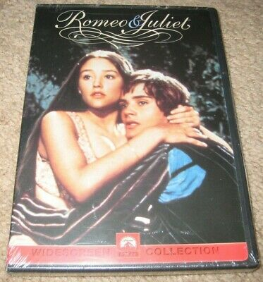 Romeo & And Juliet DVD NEW Olivia Hussey 1968 Leonard Whiting OOP R1 SEALED USA