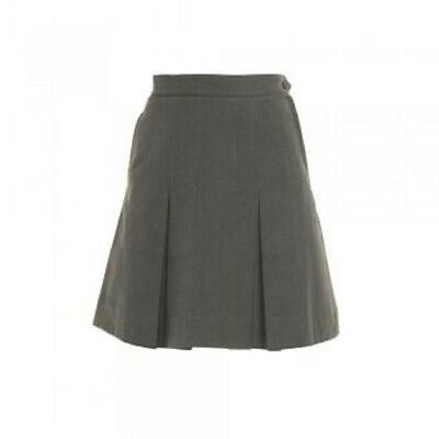 MID GREY PLEATED SKIRT - size 22/102