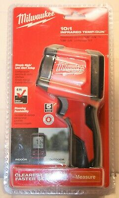 MILWAUKEE 2267-20H 10:1 Infrared Thermometer LCD Display Temperature Gun - New