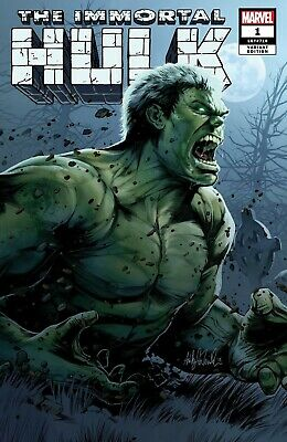 The Immortal Hulk #1 2018 Ashley Witter Exclusive Variant 1st Print NM