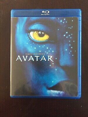 James Cameron's AVATAR Blu-Ray/DVD Combo Original case and cover Like New