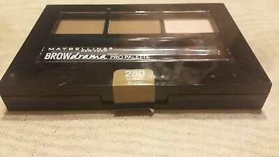 883b3cd8316 NEW MAYBELLINE BROW Drama Pro Eyebrow Palette 260 Deep Brown - $5.04 ...