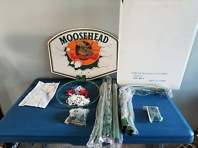(VTG) 1996 Moosehead Beer Basketball hoop bar game room man cave Canada mib
