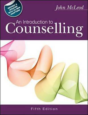 An Introduction to Counselling, Fifth Edition, Mcleod, John, Good Book