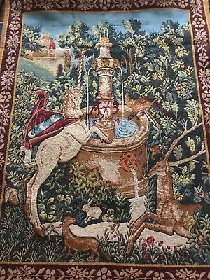 Point Des Meurins Tapestry 5235 Made In France