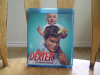 Dexter Season 4 Blu-ray Pre-Owned Like New Condition Clean Bonus Disc