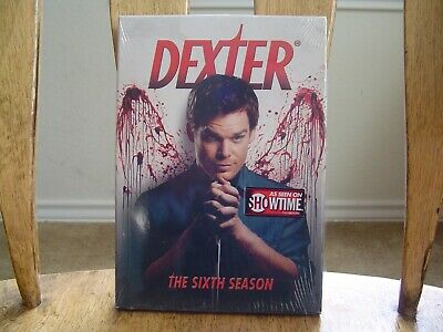 Dexter Season 6 DVD Pre-Owned Like New Condition Clean