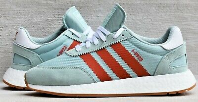 best website 276ce 5c3f0 New Adidas Originals I-5923 Iniki Men's Boost Lifestyle Shoes Ash Green  Amber
