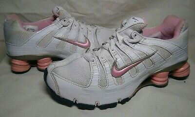 wholesale dealer 40916 ab449 NIKE SHOX TURBO OH + Women s Size 7.5 Pink Running Shoes 314069