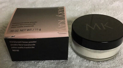LOT OF 2 Mary Kay Translucent Loose Powder 0.39 oz FULL SIZE New YOU GET 2!