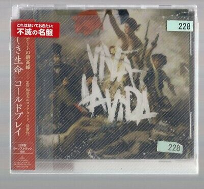VIVA LA VIDA OR DEATH AND ALL HIS FRIENDS [CD] Coldplay [with OBI]