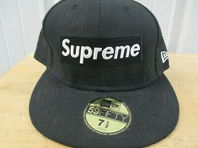 246ac8eb166 SUPREME X NEW Era Dark Green Box Logo Mesh Fitted Hat Cap 7 1 4 SS18 ...