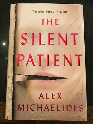 The Silent Patient by Alex Michaelides ( Hardcover – 2019) AWESOME Book!