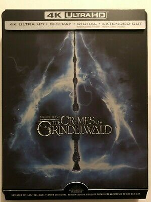 Fantastic Beasts: The Crimes of Grindelwald (4K UHD Disc ONLY) + STEELBOOK CASE!