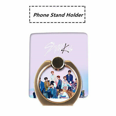 Kpop Stray Kids Clé 1 : MIROH Phone Stand Holder Cute Finger Ring Grip Universal