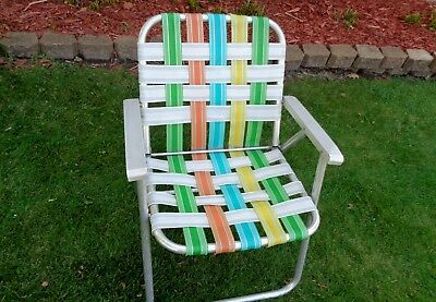 Marvelous Vintage Outdoor Aluminum Folding Web Chair Frames 19 99 Ibusinesslaw Wood Chair Design Ideas Ibusinesslaworg