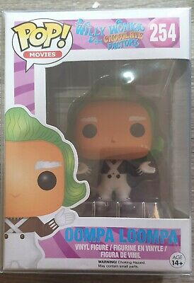 Willy Wonka & The Chocolate Factory - Oompa Loompa #254 Funko Pop Vinyl Vaulted