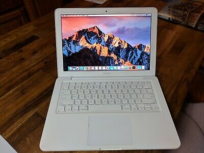 "Apple MacBook White 13"" A1342 250GB SSD, 8GB of RAM, NEW BATTERY, OS X Sierra"