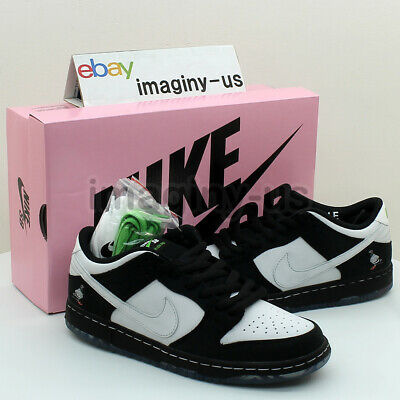 wholesale dealer 24eb2 85e96 NIKE BV1310-013 NIKE Sb Dunk Low Staple Panda Pigeon Black In Hand