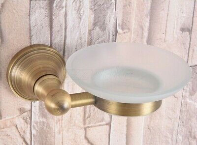 Bathroom Accessory Wall Mounted Antique Brass Soap Dish Holder Zba167