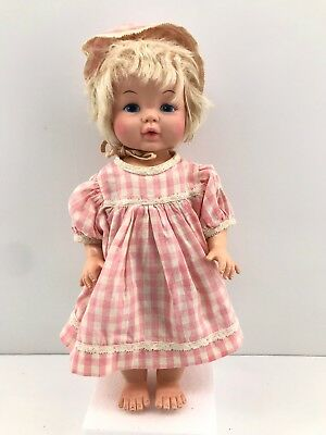 VINTAGE GOLDBERGER SOFTINA Baby Doll Miracle Soft Foam Doll Drink Wets