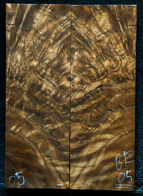 "Bastongne Walnut #05 Knife Scales 5""x1.75""x7/16"" see 100 species in my store"