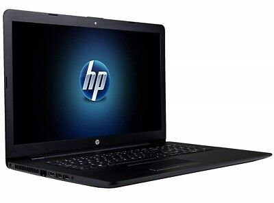 "HP 17 17.3"" FULL-HD LED Quad Core A12 3.6GHz 8GB 1000GB DVDRW Laptop JET BLACK"