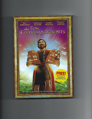 New: The Ten Commandments Dvd-An Ordinary Man An Xraordinary Calling-Kingsley
