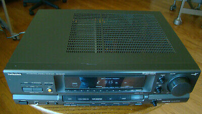 Technics SA-GX490 FM/AM AV Receiver Amplifier Tested Great Working Condition