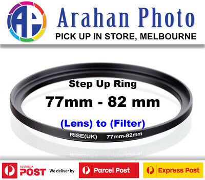 Step Up Ring 77-82mm  77mm Lens to 82mm filter