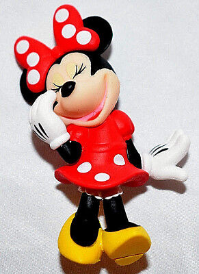 Disney Store Authentic 2000s MINNIE MOUSE Figurine Figure Cake TOPPER Toy NEW