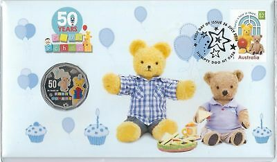 2016 Fifty Cent - Pnc - *50 Years Of Play School* *big Ted & Little Ted* - Unc