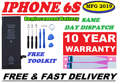 New Genuine Replacement Battery for Apple iPhone 6S 1715mAh High Capacity +Tools