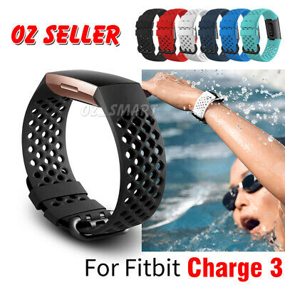 Fitbit Charge 3 Bands Sports Watch Bracelet Wrist Strap Breathable Replacement