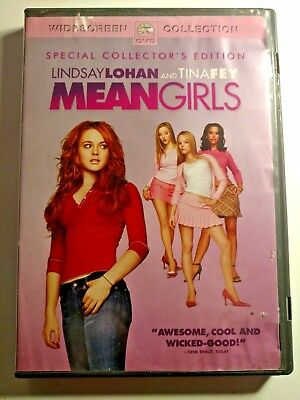 Used DVD Mean Girls Widescreen Special Collector's Edition Lindsay Lohan