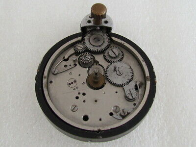 Junghans J30 BZ Messerschmitt Luftwaffe WWII Germany Clock Movement for Repair