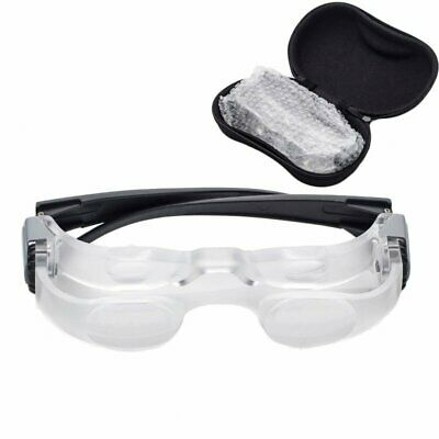 2X Headband Magnifying Glass Loupe Reading Jewelry Repair Magnifier Lightweight