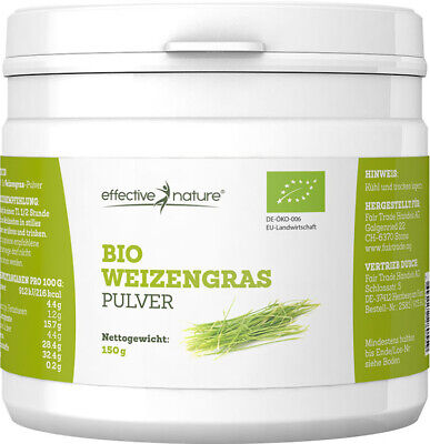 effective nature - Weizengras Pulver - Bio - 150g