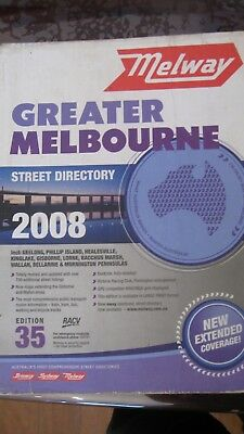 Melway Street Director Edition 35 by Ausway Publishing Pty Ltd 2008