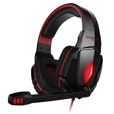 G4000 Gaming Headset Wired Earphone Gamer Headphone With Microphone For PS4