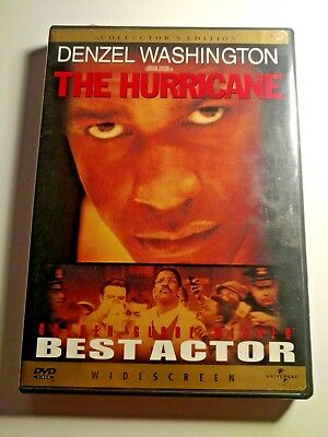 Used DVD The Hurricane Collector's Edition Denzel Washington Widescreen